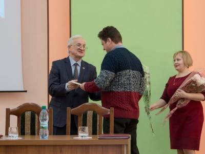 Поздравляем Надькина Л.Ю. с присвоением звания доцента