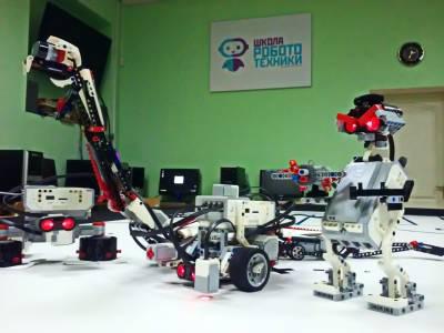 1 Республиканский канал в гостях у школы робототехники