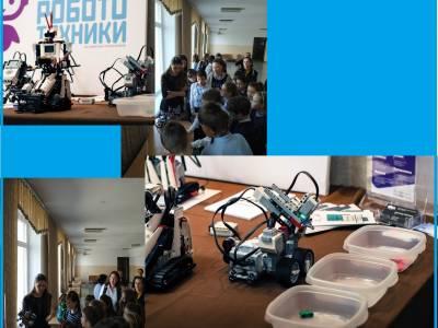 Робототехника на дне открытых дверей тираспольского лицея №2