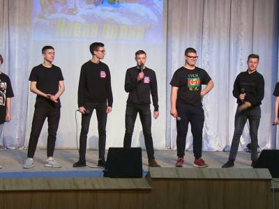 Команда физико-математического факультета завоевала кубок КВН