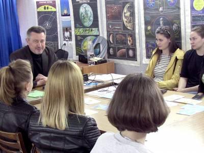 Студенты ПГУ посетили планетарий
