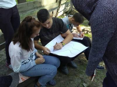 Первокурсники ФМФ в Школе актива